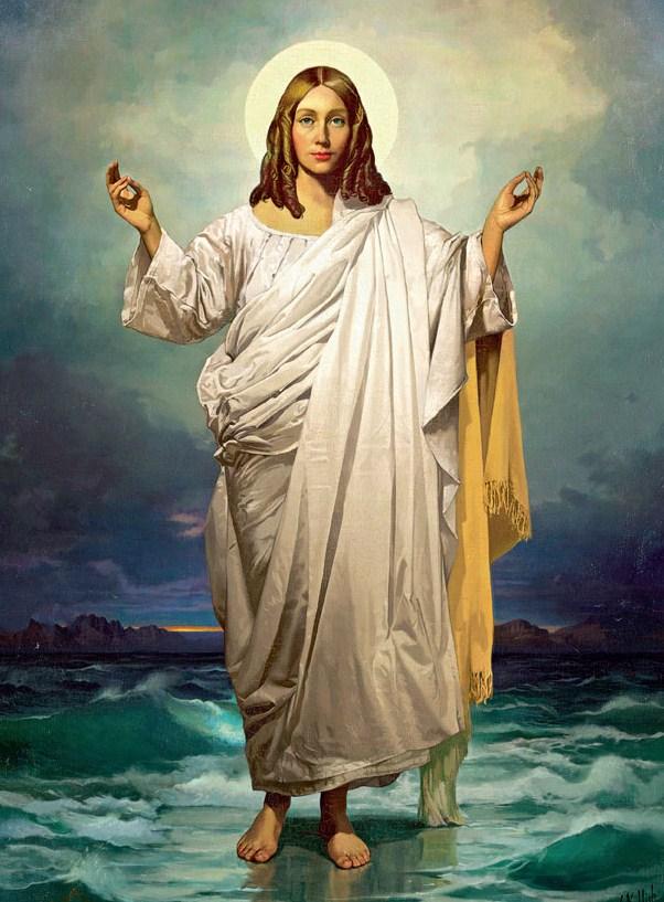 Female Christ Ramon Martinez